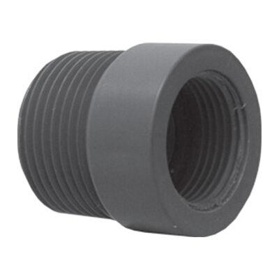 """Rain Bird PVC szelepakna elosztó - közdarab 1"""" km x 3/4"""" bm"""