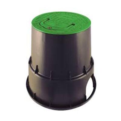Rainworks VBRW-910 kerek akna zöld tetővel Ø=24 cm, h=25 cm